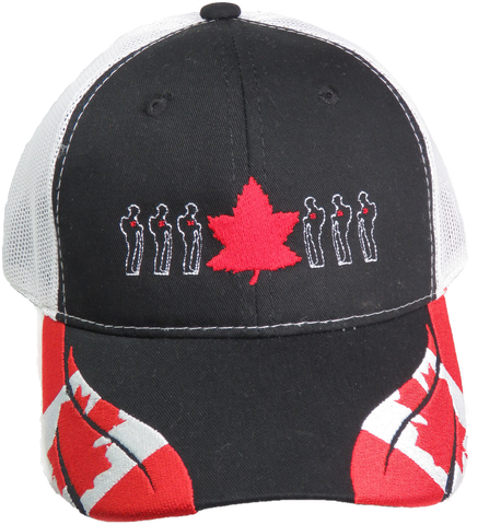 THIS FLAG FLIES FREE CANADIAN MESH BACK BALL CAP