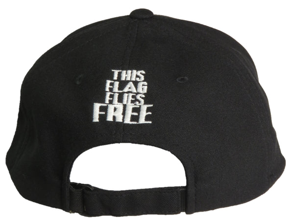 THIS FLAG FLIES FREE FLEXFIT CANADIAN BACK BALL CAP