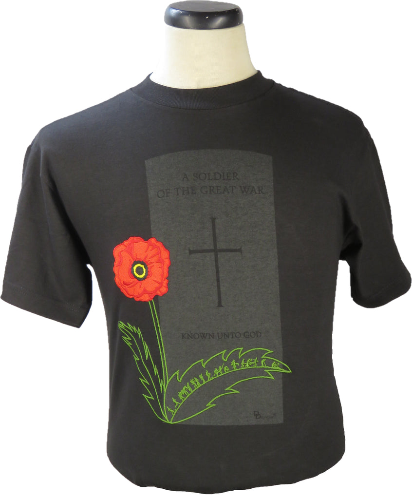 The Life of an Unknown Soldier Unisex Crewneck T-Shirt