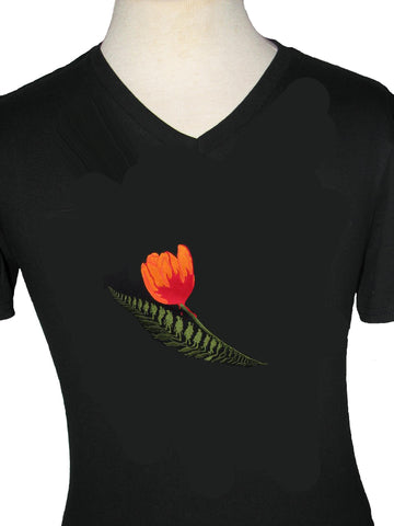 Liberation of Holland V Neck (Unisex) short sleeve t-shirt