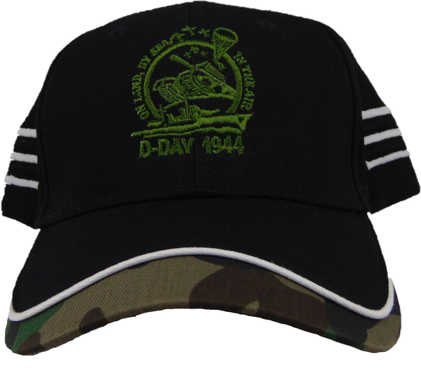 On Land by Sea in the Air Camo hat