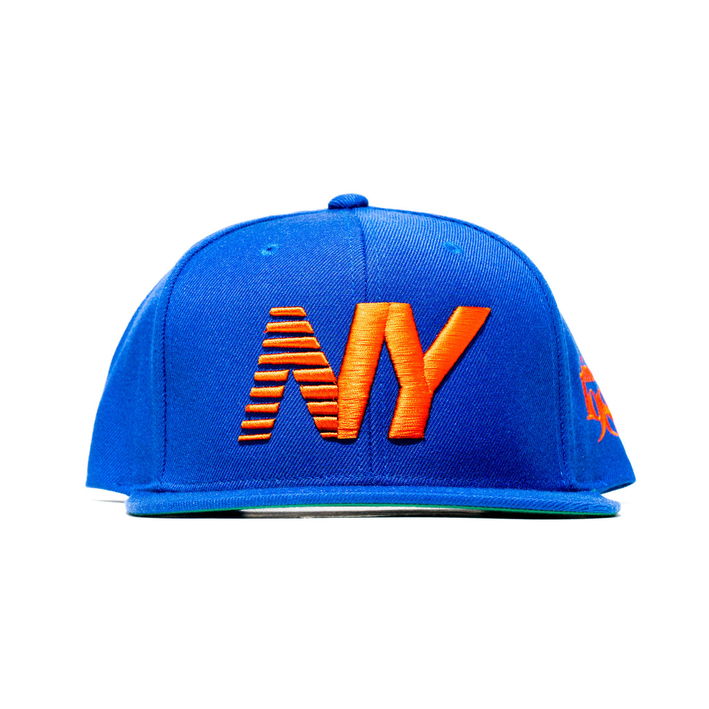 Royal Blue x Orange NY Balance SnapBack