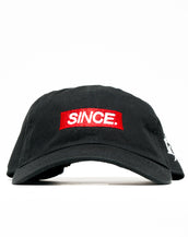 Black SINCE. Mini Box Strapback