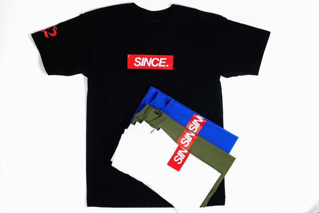 Since. Box logo Tees