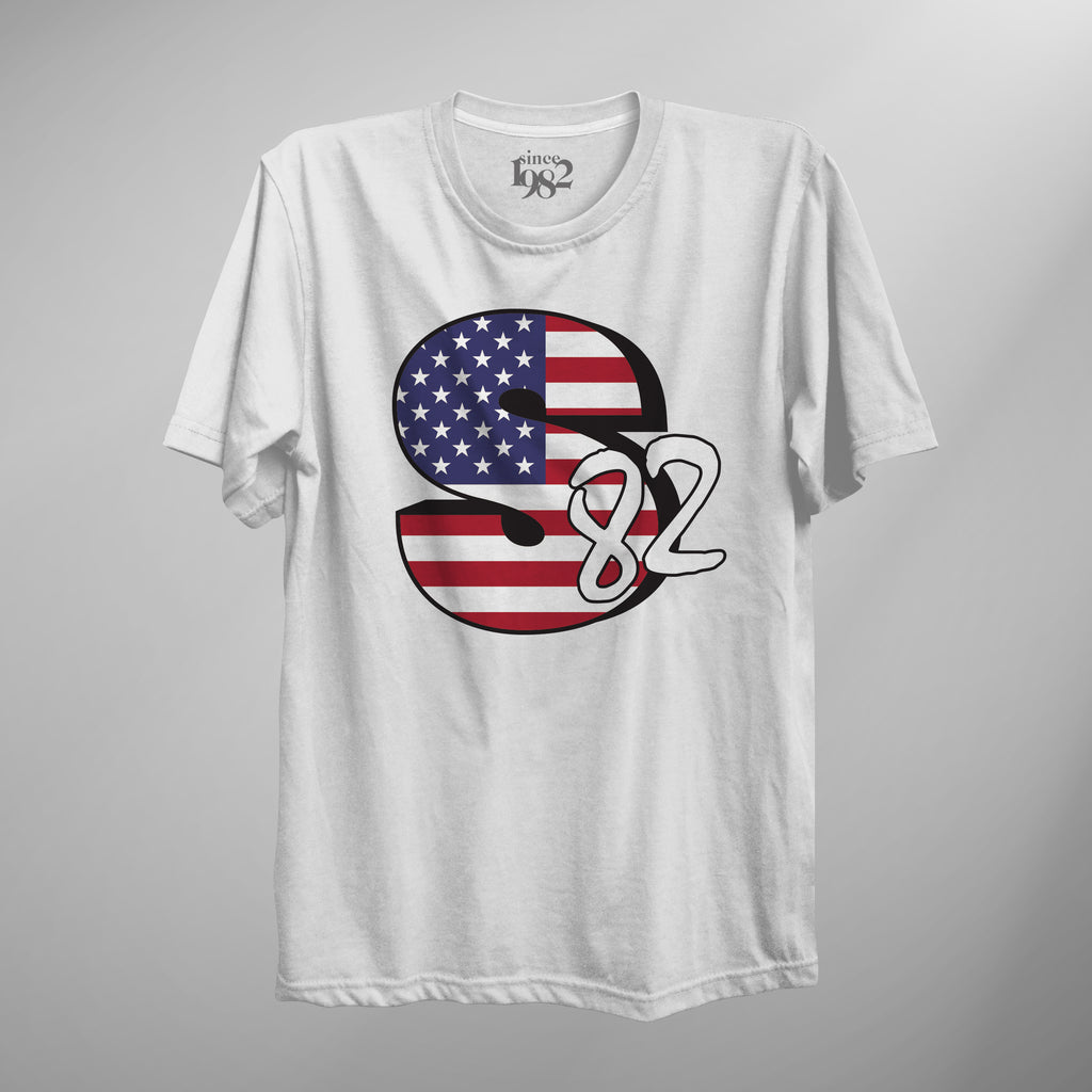 Quick-Strike Stars & Stripes Logo Tee