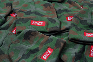 Camo Mini Box logo Beanie