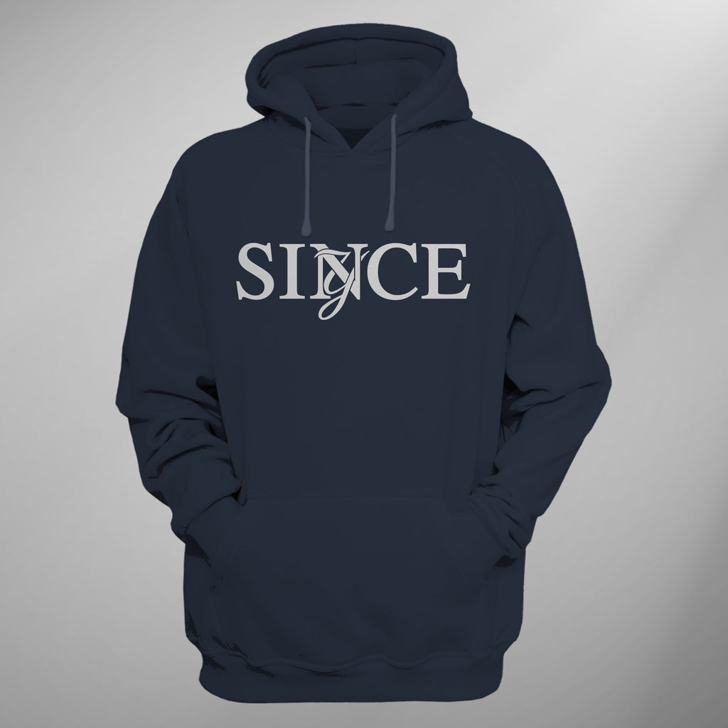 Navy Since Monogram Hoody