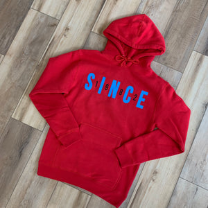 Red Retro Hoody