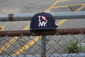 Dark Navy I Run NY Crown