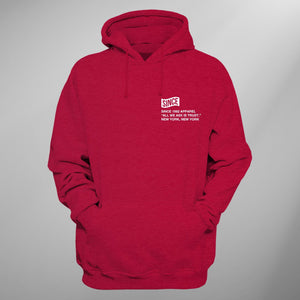 Red Since Info Hoody