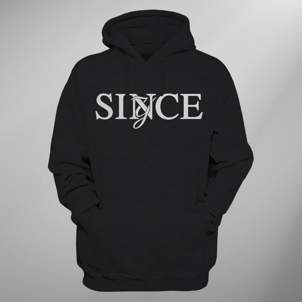 Black Since Monogram Hoody