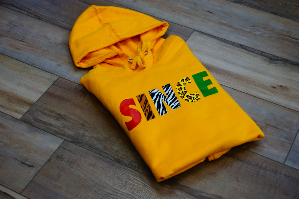 Gold Safari Pullover Hoody