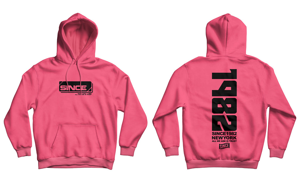 Neon Pink Tech Hoody (TRUE TO SIZE)