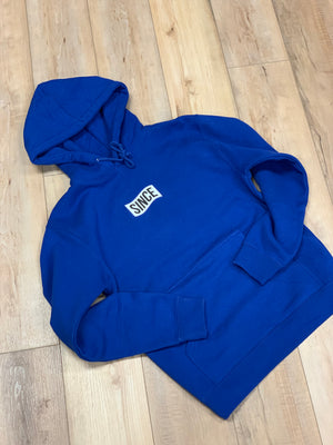 Blue Since Info Hoody