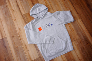 Grey Flip Art Hoody