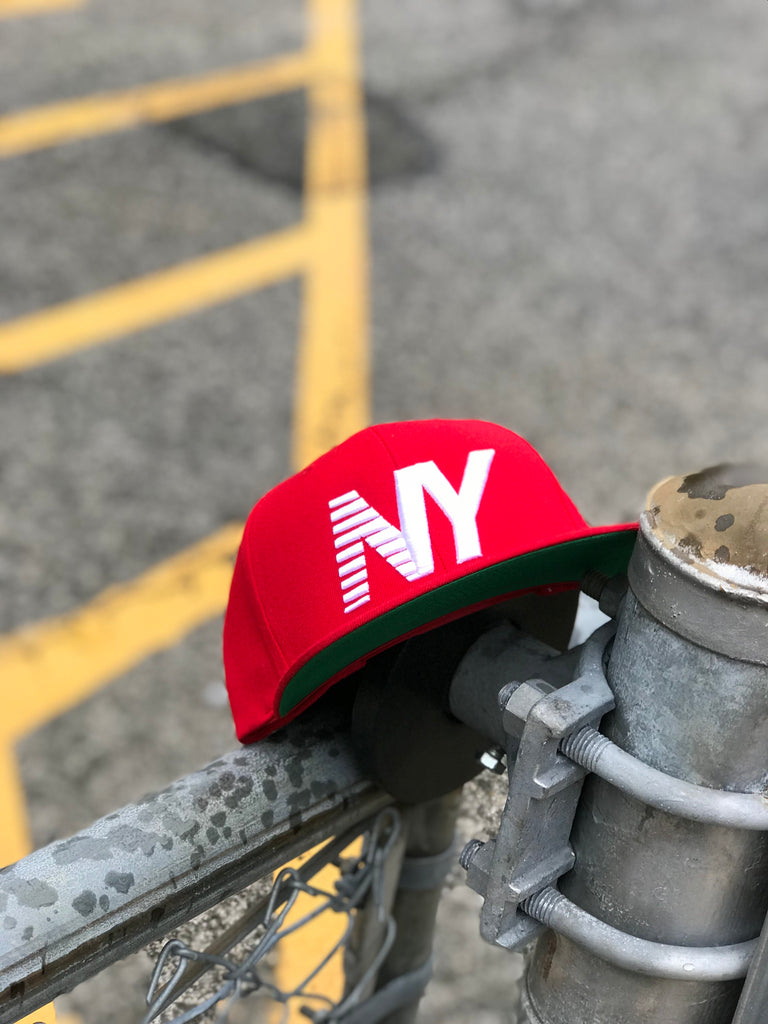 Red NY Balance Crown