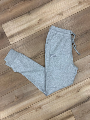 Grey Since Flag Joggers