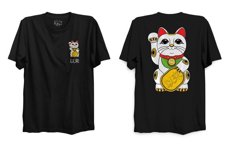 Since Neko Cat Tee (side seamed, very true to size fit)