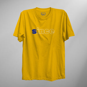 Yellow Flip Art Tee
