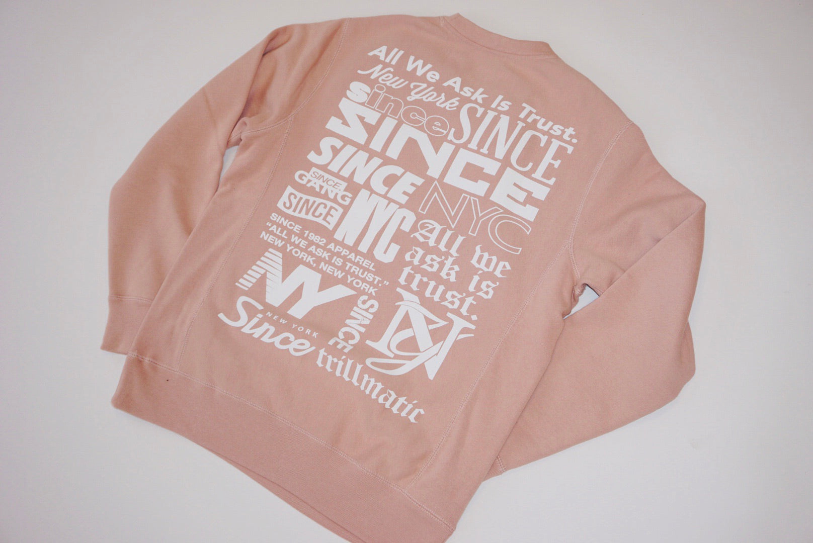 Pink Dust Collections Premium Crewneck