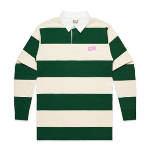 GREEN STRIPED RUGBY