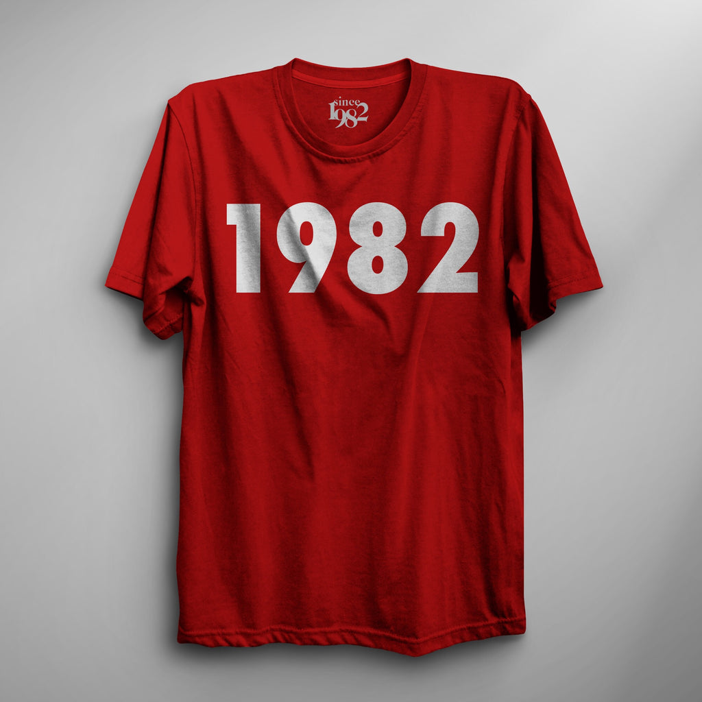 Red 1982 Tee