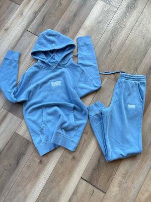 Baby Blue Since Vintage Wash SWEATSUIT Set