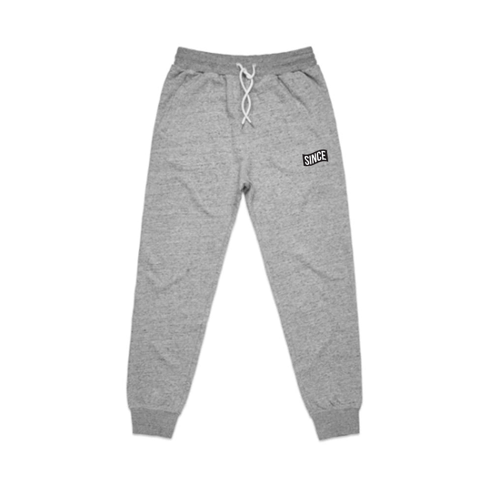 Athletic Grey Speckle Sweatsuit Set