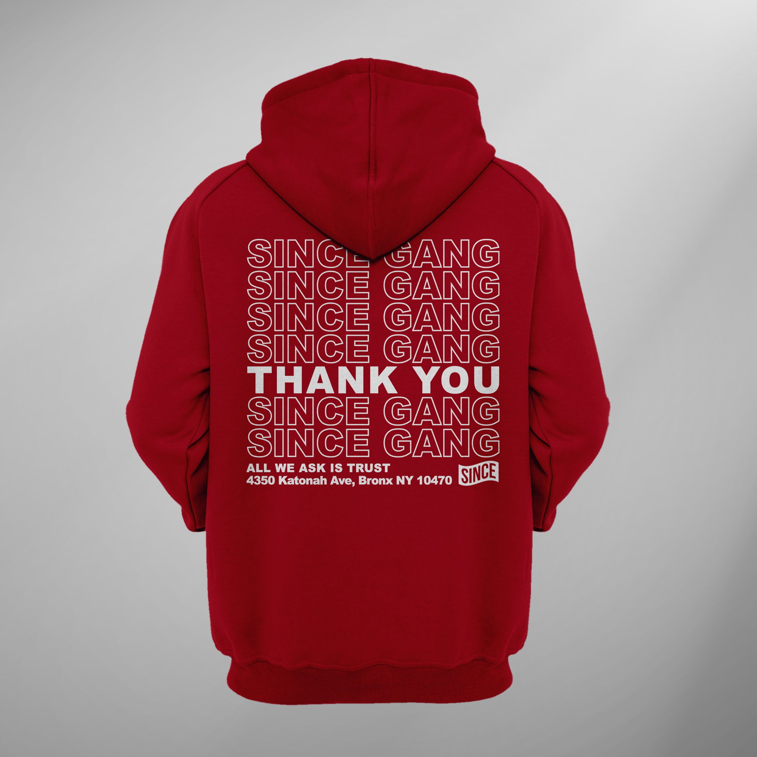 Thank you 2.0 Anniversary Pullover Hoody