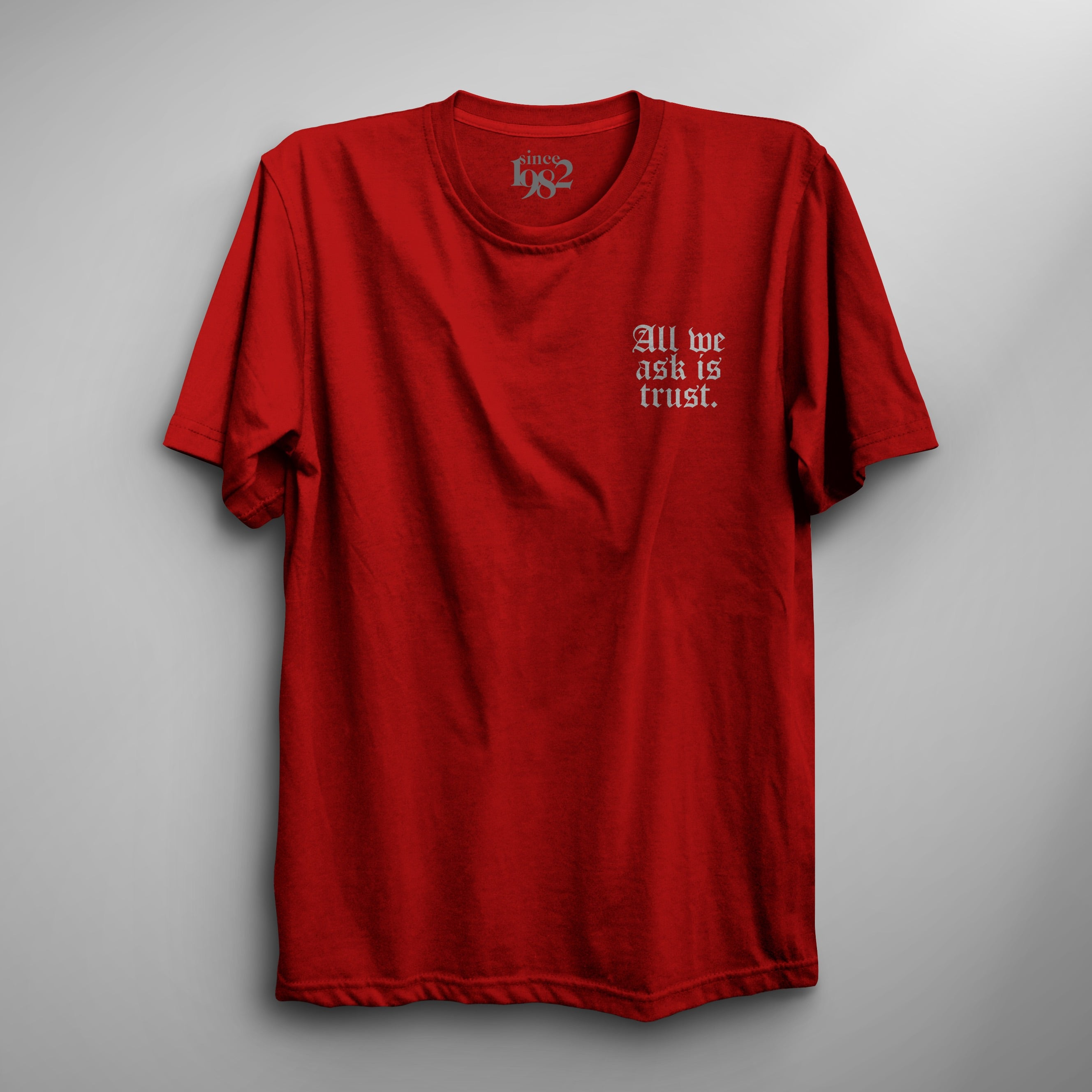 Red TRUST Tee