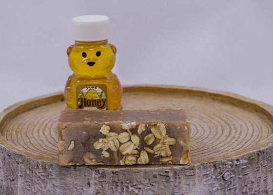 Honey Oatmeal - Goat's Milk Soap