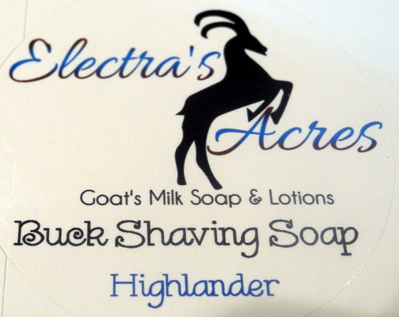 Highlander Scent - Men's Shaving Soap