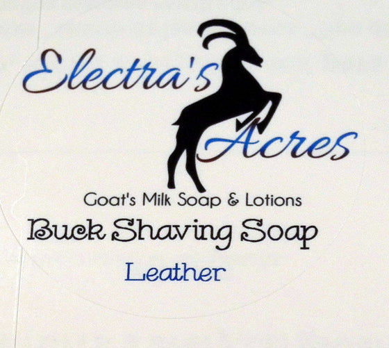 Leather Scent - Men's Shaving Soap