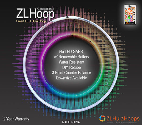 New Smart LED Hoop - ZL Hoop Gen 2