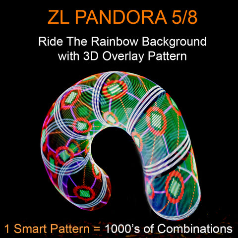 ZL Pandora Smart LED Hoops 3D Overlay