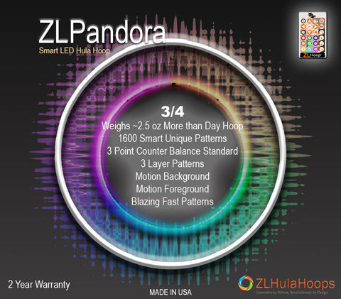 ZL Pandora 3/4 Smart LED Hoops