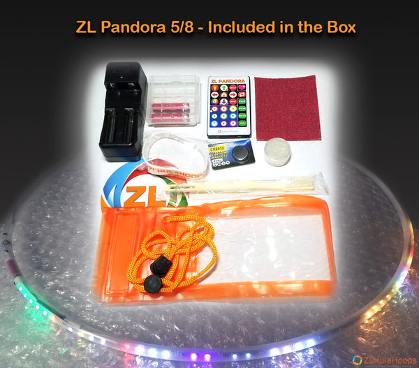 ZL Pandora Smart Led Hoop Included in the box