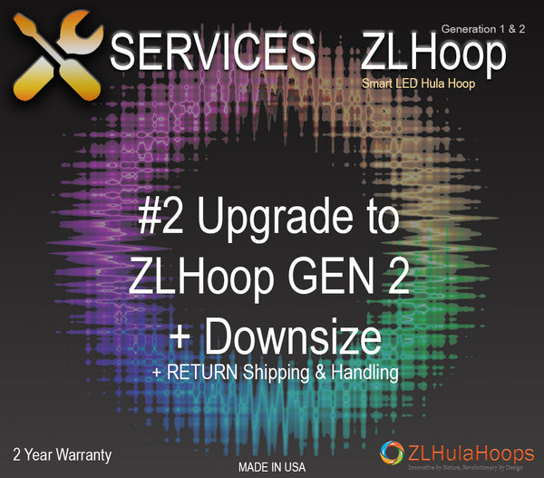 Upgrade #2 : ZL Hoop Gen 2 + Downsize (Add/Remove Counter Balance)