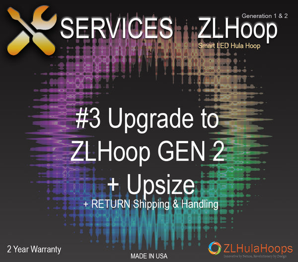 Upgrade #3 : ZL Hoop Gen 2 + Upsize (Add/Remove Counter Balance)
