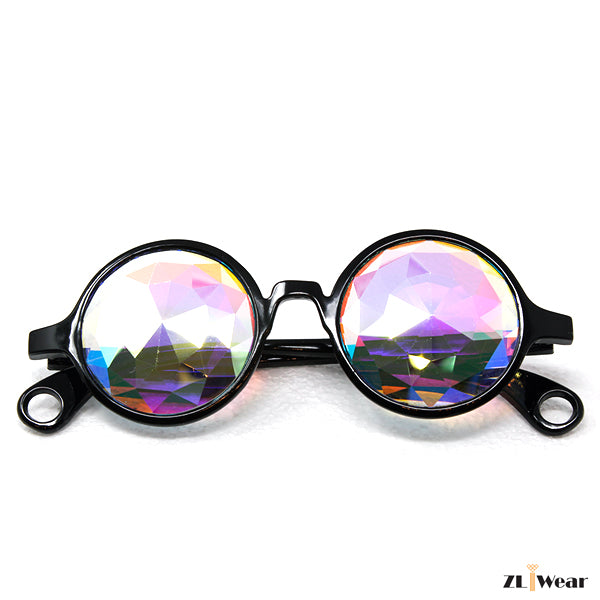 Kaleidoscope Glasses Diamond Rainbow
