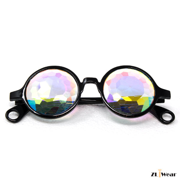 Kaleidoscope Glasses Fractural Rainbow Different Frame Colors