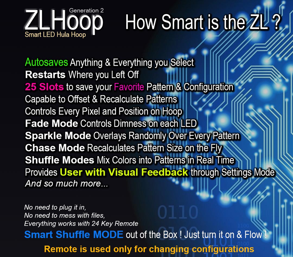 ZLHoop GEN 2 Smart LED Hoops
