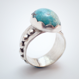 Nevada Blue Turquoise Ring