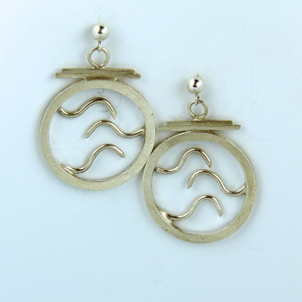 Wave Earrings #1