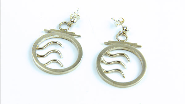 Wave Earrings #2