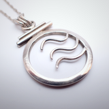 Silver Waves Necklace