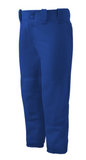 Mizuno Select Belted Low Rise Fast Pitch Pants