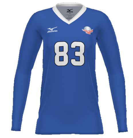Mizuno Women's Sublimated Long Sleeve Jersey