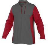 Rawlings Quarter Zip Fleece Pullover - TECHF