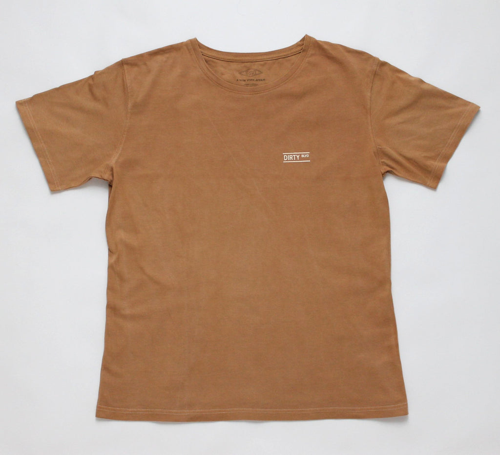 Dirty Blvd on Garment dyed - GxC Brown